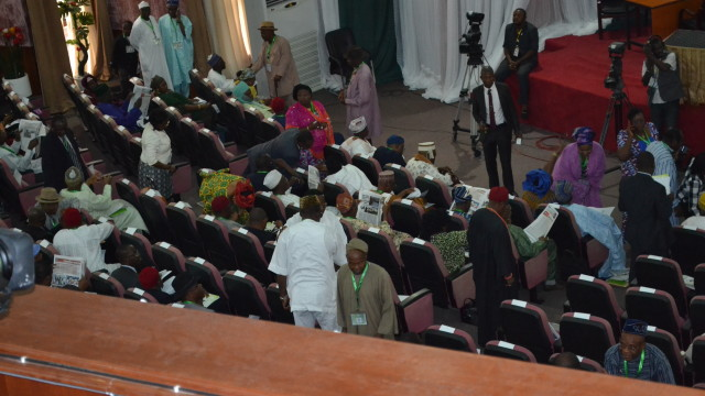 delegates at todays plenary session