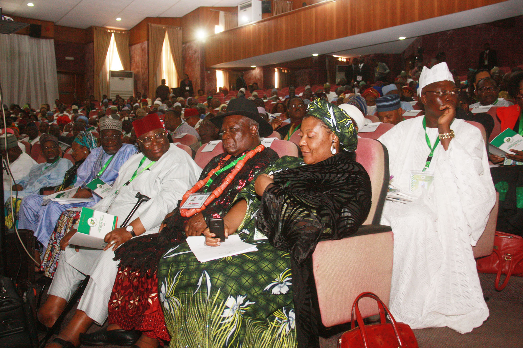 Delegates at the Third Day preliminary sitting