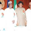Vice President, Namadi Sambo, Akilu Indabawa, President Goodluck Jonathan, Femi Okurounmu