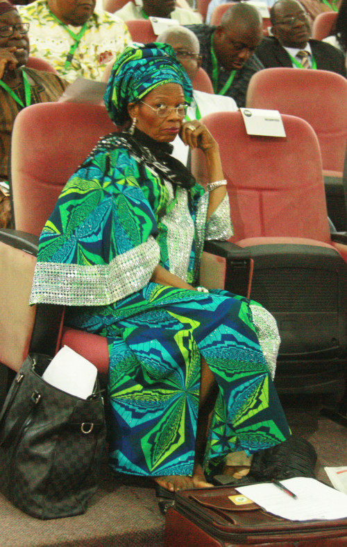 Present look of Prof Dora Akunyili at the confab, 2014  (2)