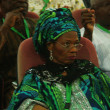 Current look of Prof Dora Akunyili at the confab, 2014