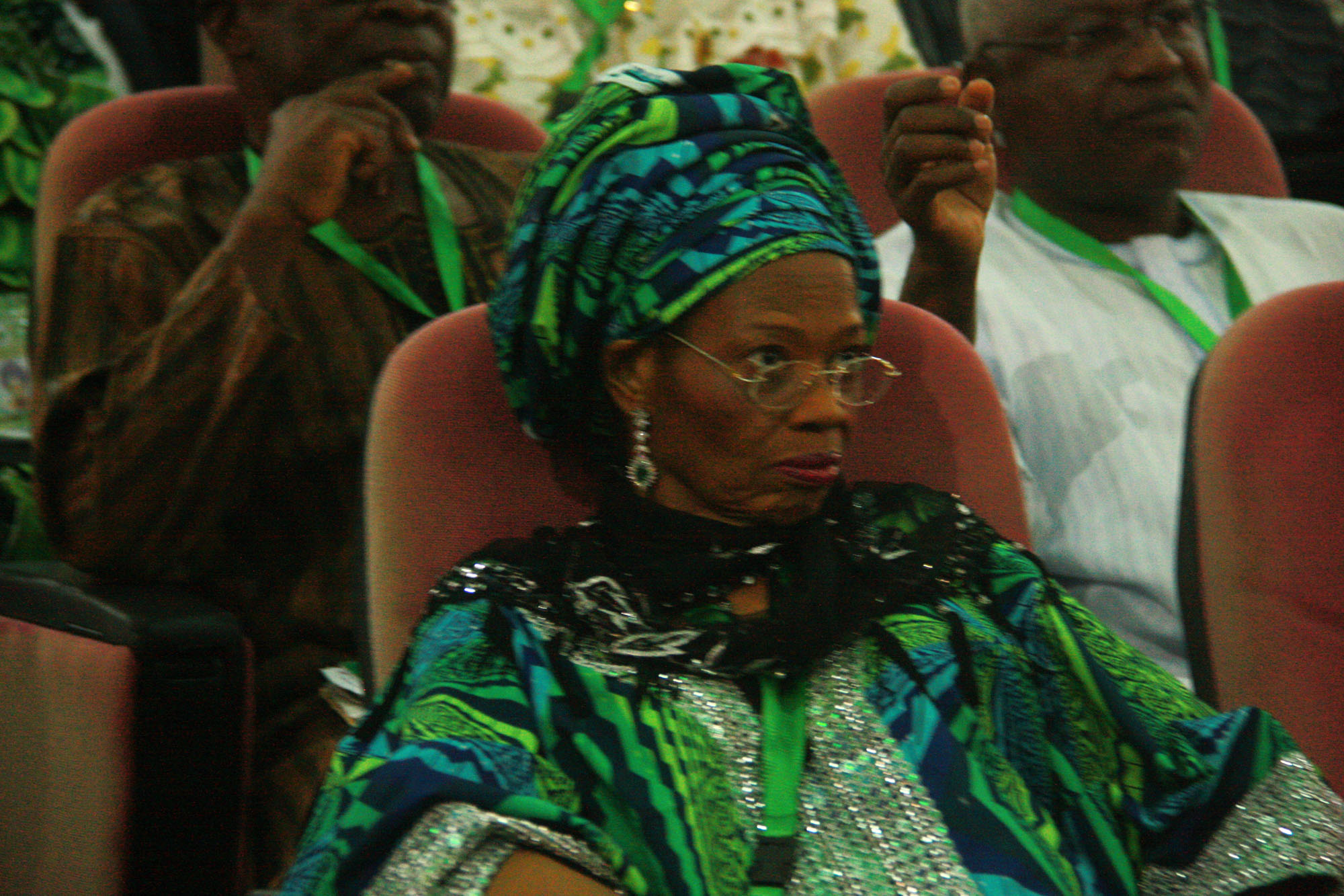 Present look of Prof Dora Akunyili at the confab, 2014  (4)
