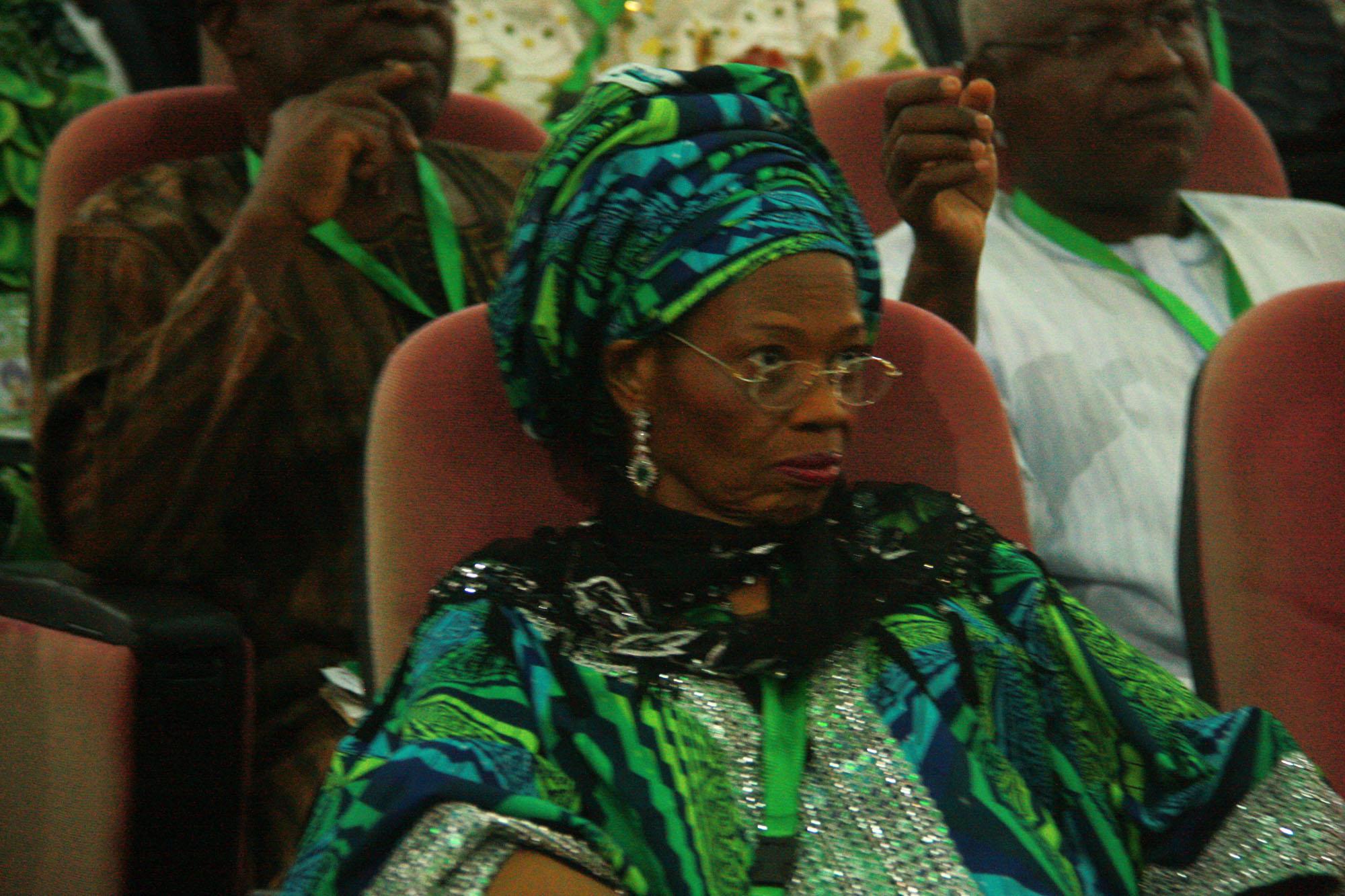 Present look of Prof Dora Akunyili at the confab, 2014  (4)