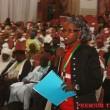 Yadomah Bukar Mandara, vice chairman, presenting her committee report