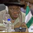 Nigeria's Vice President Jonathan Goodluck attends the plenary session of the Africa-South America Summit in Margarita Island