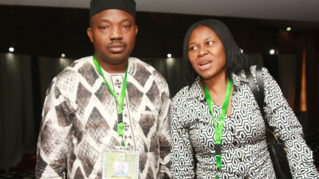 Yinka and Joe Odumakin, the only couples in the National Conference