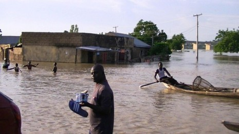 Flood in Jimeta, Yola